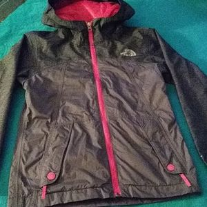 The North Face girls dryvent jacket